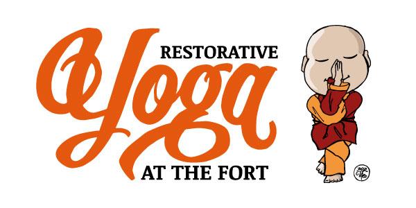 Restorative Yoga at Fort Massey United Church, Halifax, Nova Scotia graphic